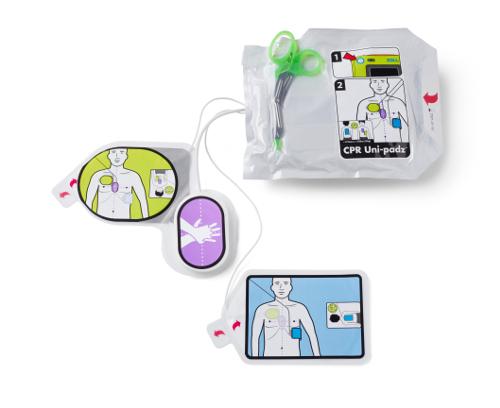 Électrode CPR Uni-padz